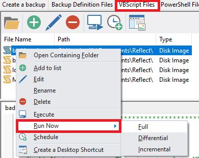 SOLVED] VBScript: A under Reflect v6 perfect running script